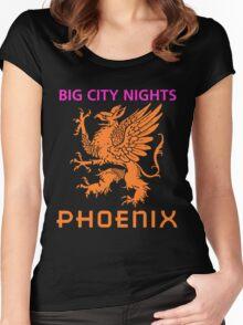BIG CITY NIGHTS-PHOENIX Women's Fitted Scoop T-Shirt