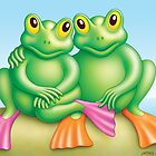 FROG  COUPLE by James Oliver