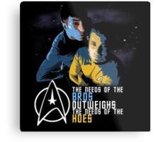 Kirk and Spock Metal Print