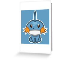 Mudkip Greeting Card