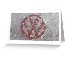 Tatty VW Greeting Card