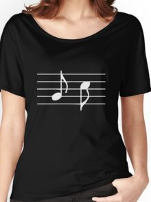 Music Sheet Women's Relaxed Fit T-Shirt