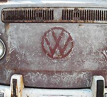 VW bus front by Gerel Gruber
