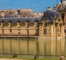 Chateau de Chantilly 2 Sticker