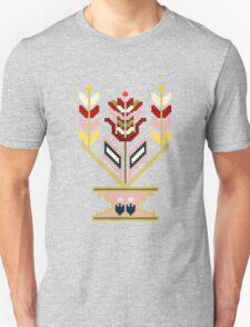 Flower pot, traditional mosaic expression. T-Shirt