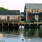 #487   Houses Of The Harbor by MyInnereyeMike