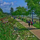WhiteRock Promenade by jwinman