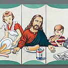 The Last Supper ie. The Last Time I Eat At Your House. by Sam Dantone