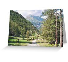 Una passeggiata sul Monte Rosa Macugnaga ItalIA -2000 VISUALIZ. GENNAIO 2015 - VETRINA RB EXPLORE 9 OTTOBRE 2012 Greeting Card