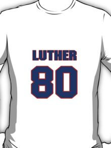 National football player Luther Blue jersey 80 T-Shirt