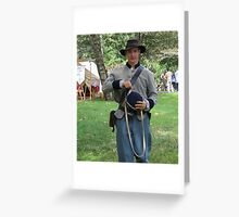 our 'johnny reb' Greeting Card