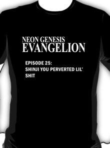 Neon Genesis Evangelion - SHINJI YOU PERVERTED LIL' SH*T t-shirt / Phone case / Mug T-Shirt