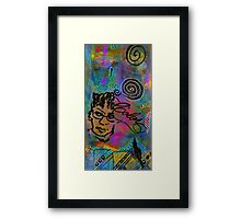 A HEALING Potion Called COLOR Framed Print