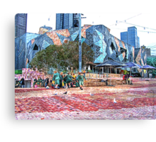 Federation Square  Canvas Print