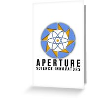 Aperture Science Laboratories Greeting Card