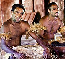 Kava Ceremony Fiji by Helen  Page