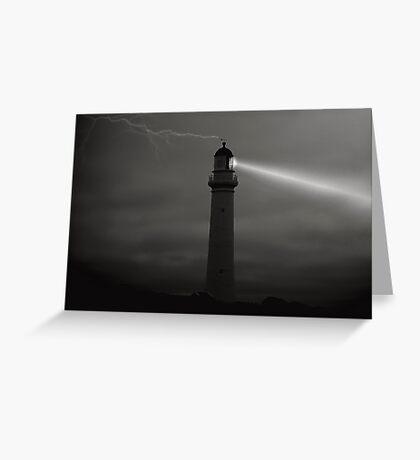 Light at Night Greeting Card