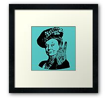 If you may Your Majesty Framed Print