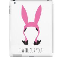 I Will Cut You iPad Case/Skin