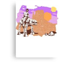 Cowboy Chuck Norris Canvas Print