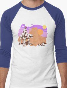 Cowboy Chuck Norris Men's Baseball ¾ T-Shirt