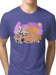 Cowboy Chuck Norris Tri-blend T-Shirt