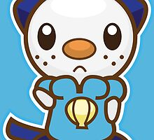 Oshawott by Eat Sleep Poke Repeat