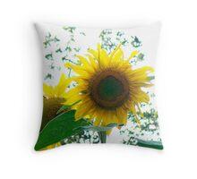 Sunflower Perfection Throw Pillow