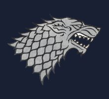 Game of Thrones House Stark Sigil by TheNorthWolf
