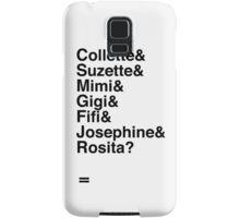 wunderbar birdmobile Samsung Galaxy Case/Skin