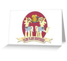 Flim Flam! Greeting Card