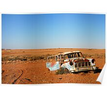 Abandoned rusty Holden Poster