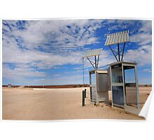 Solar powered phoneboxes outback Poster