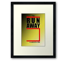 The Runaway Five (Retro Style) Framed Print