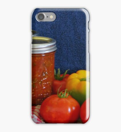 Salsa Still Life iPhone Case/Skin
