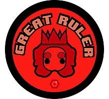 Great Ruler (Red) Photographic Print