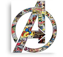 Avengers symbol! Canvas Print