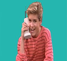 Zack Morris Saved By the Bell 90's Design by hellosailortees