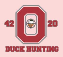 Ohio State Duck Hunting One Piece - Short Sleeve
