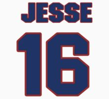 National football player Jesse Holley jersey 16 by imsport