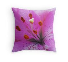 Lily of Love Throw Pillow