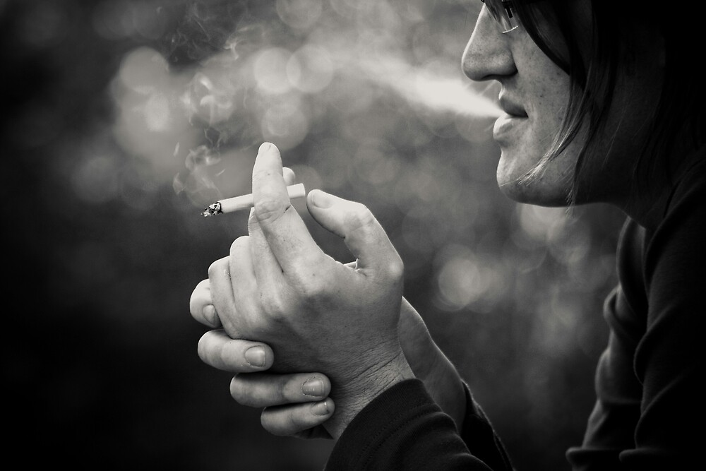 not about smoking... by Victor Bezrukov
