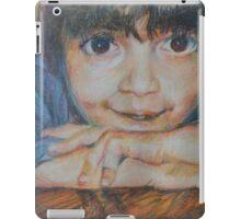 Pensive - A Portrait Of A Boy iPad Case/Skin