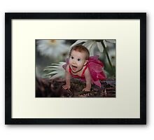 Spring Fairy Framed Print