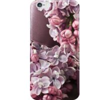 Lilac And Ribbon Curls iPhone Case/Skin
