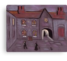 Old courtyard Canvas Print