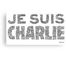 Charlie hebdo Canvas Print