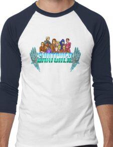 Snatcher (Sega CD) Logo  Men's Baseball ¾ T-Shirt