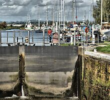 The Lock Gate by Catherine Hamilton-Veal  ©
