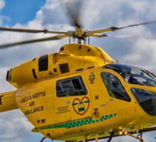 MD 902 Explorer G-LNCT air ambulance Sticker